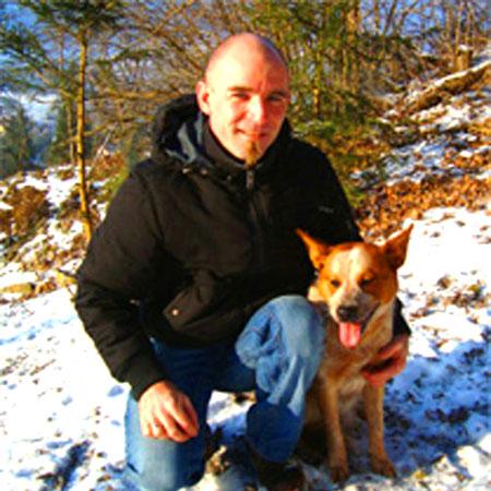 Hundetrainer und Hundepsychologe Klaus Adam Höpfl
